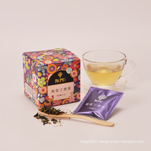 Prevent high blood pressure Nylon Pyramid Teabag Detox Osmanthus Tea